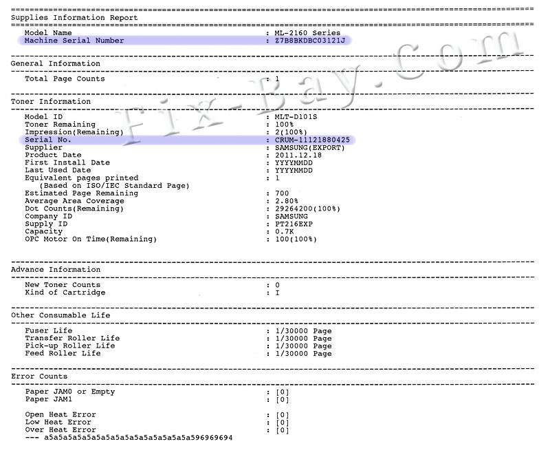 Инструкция По Эксплуатации Принтера Samsung Ml 1641